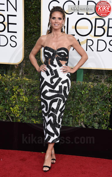 Heidi Klum - Beverly Hills - 08-01-2017 - Golden Globe 2017: il red carpet va preso di petto