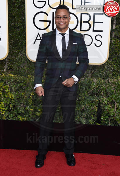 Cuba Gooding Jr. - Beverly Hills - 08-01-2017 - Golden Globe 2017: gli arrivi sul red carpet
