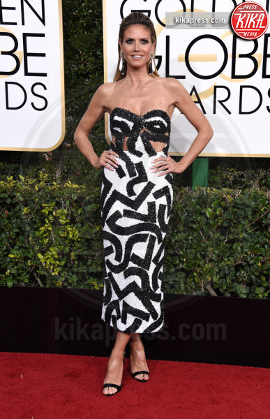 Heidi Klum - Beverly Hills - 08-01-2017 - Golden Globe 2017: gli arrivi sul red carpet