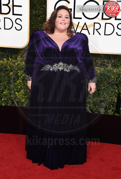 Chrissy Metz - Beverly Hills - 08-01-2017 - Golden Globe 2017: gli arrivi sul red carpet