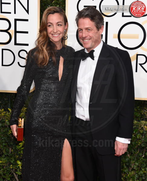 Hugh Grant - Beverly Hills - 08-01-2017 - Golden Globe 2017: gli arrivi sul red carpet