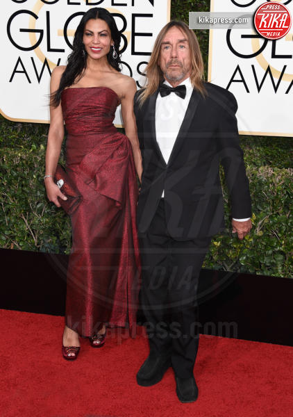 Iggy Pop - Beverly Hills - 08-01-2017 - Golden Globe 2017: gli arrivi sul red carpet