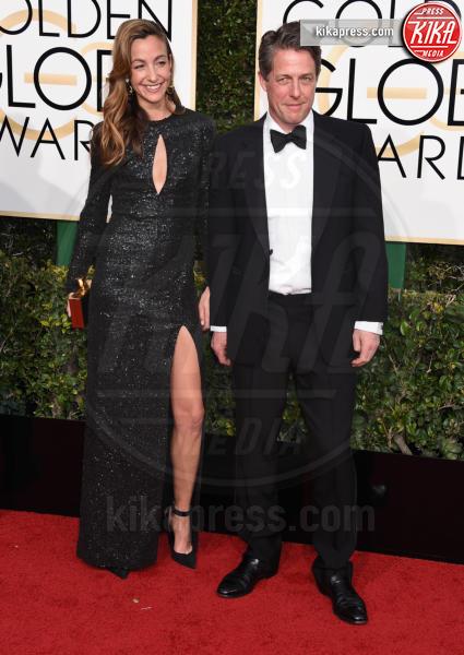 Hugh Grant - Beverly Hills - 08-01-2017 - Golden Globe 2017: va in scena il gioco delle coppie