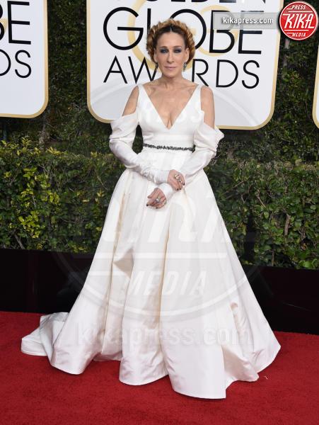Sarah Jessica Parker - Beverly Hills - 08-01-2017 - Golden Globe 2017: gli arrivi sul red carpet