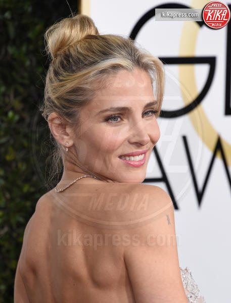Elsa Pataky - Beverly Hills - 08-01-2017 - Golden Globe 2017: gli arrivi sul red carpet