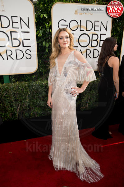 Drew Barrymore - Beverly Hills - 08-01-2017 - Golden Globe 2017: gli arrivi sul red carpet
