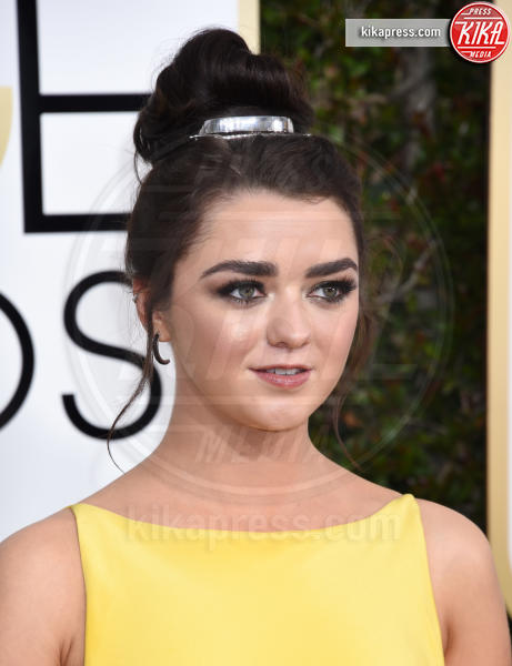 Maisie Williams - Beverly Hills - 08-01-2017 - Golden Globe 2017: gli arrivi sul red carpet