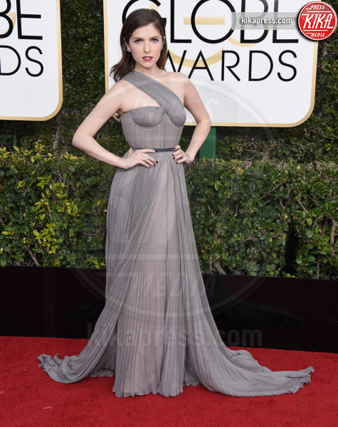 Anna Kendrick - Beverly Hills - 08-01-2017 - Golden Globe 2017: gli arrivi sul red carpet