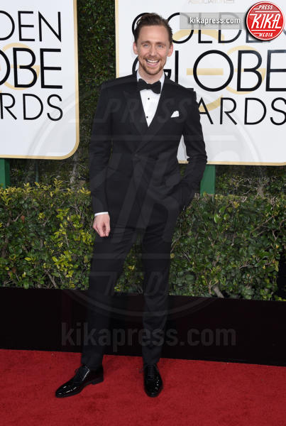 Tom Hiddleston - Beverly Hills - 08-01-2017 - Golden Globe 2017: gli arrivi sul red carpet