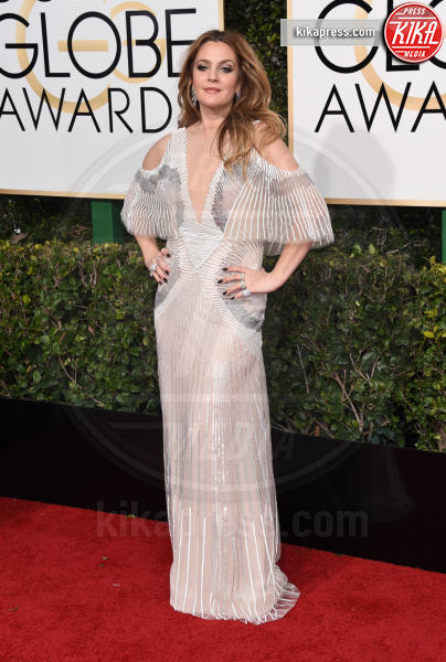 Drew Barrymore - Beverly Hills - 08-01-2017 - Golden Globe 2017: il red carpet va preso di petto