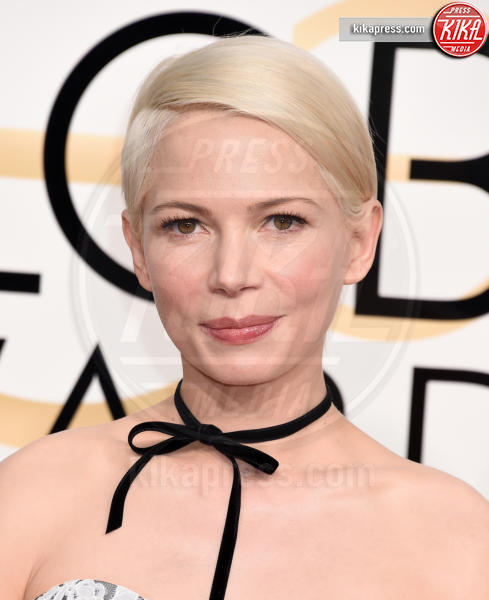 Michelle Williams - Beverly Hills - 08-01-2017 - Golden Globe 2017: gli arrivi sul red carpet