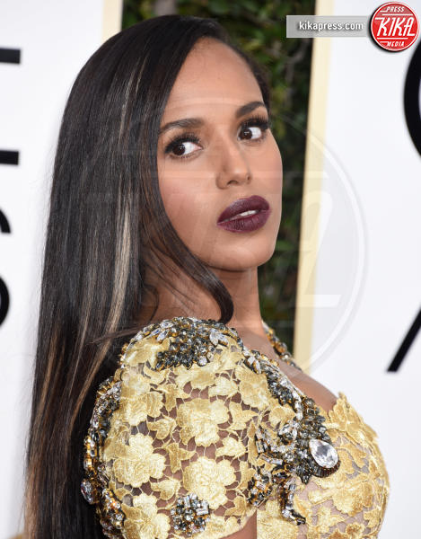Kerry Washington - Beverly Hills - 08-01-2017 - Golden Globe 2017: gli arrivi sul red carpet