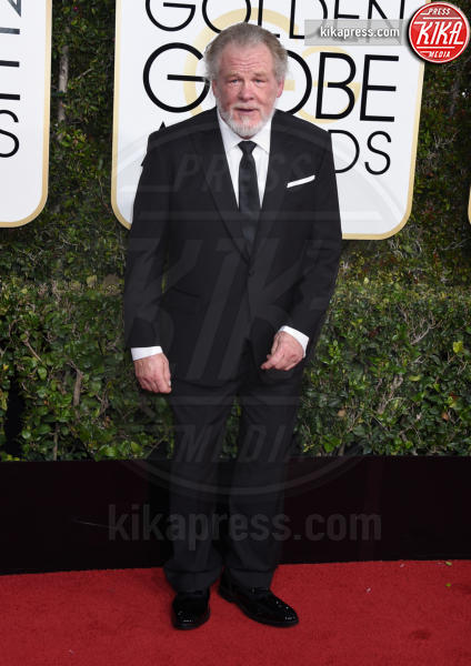 Nick Nolte - Beverly Hills - 08-01-2017 - Golden Globe 2017: gli arrivi sul red carpet