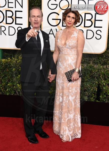 Naomi Odenkirk, Bob Odenkirk - Beverly Hills - 08-01-2017 - Golden Globe 2017: va in scena il gioco delle coppie
