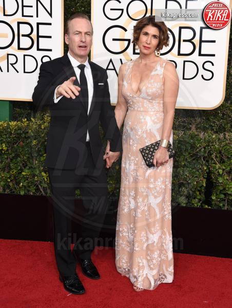 Naomi Odenkirk, Bob Odenkirk - Beverly Hills - 08-01-2017 - Golden Globe 2017: gli arrivi sul red carpet