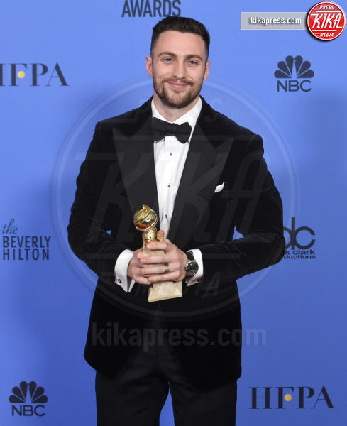 Aaron Taylor-Johnson - Beverly Hills - 08-01-2017 - Golden Globe: è il trionfo di La La Land e del black power