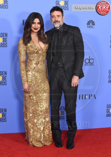 Priyanka Chopra, Jeffrey Dean Morgan - Beverly Hills - 08-01-2017 - Golden Globe: è il trionfo di La La Land e del black power