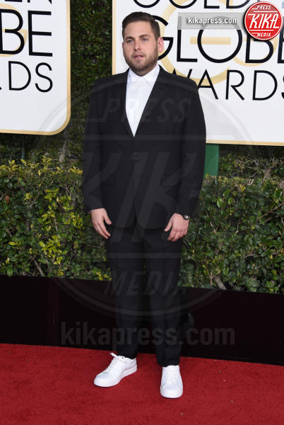 Jonah Hill - Beverly Hills - 08-01-2017 - Golden Globe 2017: gli arrivi sul red carpet