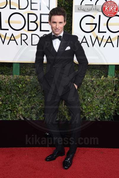Eddie Redmayne - Beverly Hills - 08-01-2017 - Golden Globe 2017: gli arrivi sul red carpet