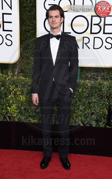 Andrew Garfield - Beverly Hills - 08-01-2017 - Golden Globe 2017: gli arrivi sul red carpet