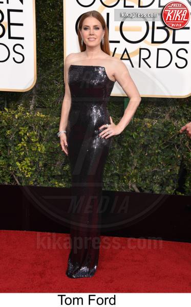 Amy Adams - Beverly Hills - 08-01-2017 - Golden Globe 2017: tripudio di colori sul red carpet!