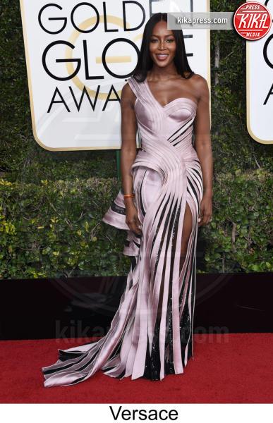 Naomi Campbell - Beverly Hills - 08-01-2017 - Golden Globe 2017: tripudio di colori sul red carpet!