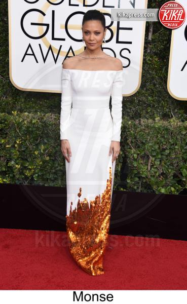 Thandie Newton - Beverly Hills - 08-01-2017 - Golden Globe 2017: tripudio di colori sul red carpet!