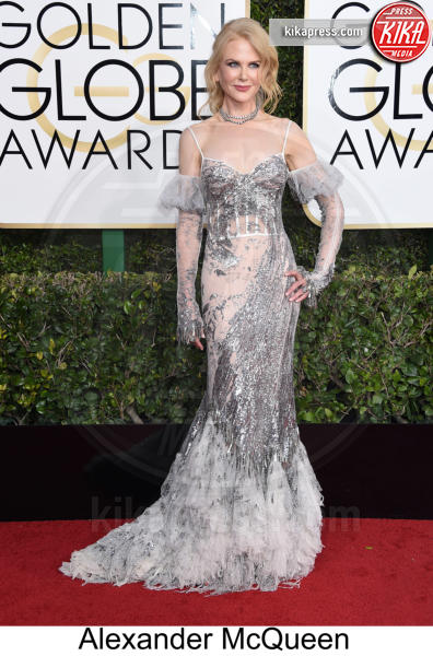 Nicole Kidman - Beverly Hills - 08-01-2017 - Golden Globe 2017: tripudio di colori sul red carpet!