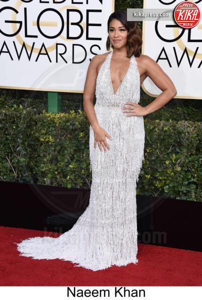 Gina Rodriguez - Beverly Hills - 08-01-2017 - Golden Globe 2017: tripudio di colori sul red carpet!