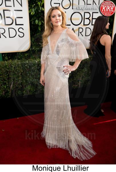 Drew Barrymore - Beverly Hills - 08-01-2017 - Golden Globe 2017: tripudio di colori sul red carpet!