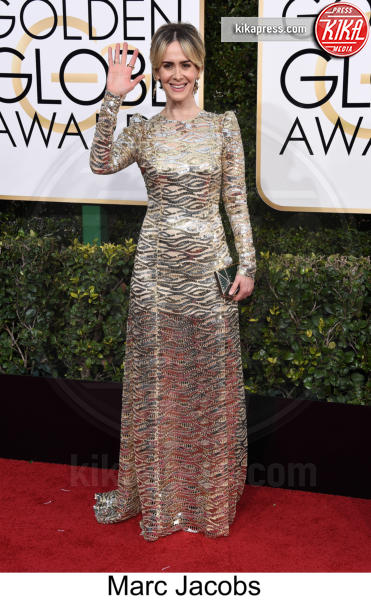 Sarah Paulson - Beverly Hills - 08-01-2017 - Golden Globe 2017: tripudio di colori sul red carpet!