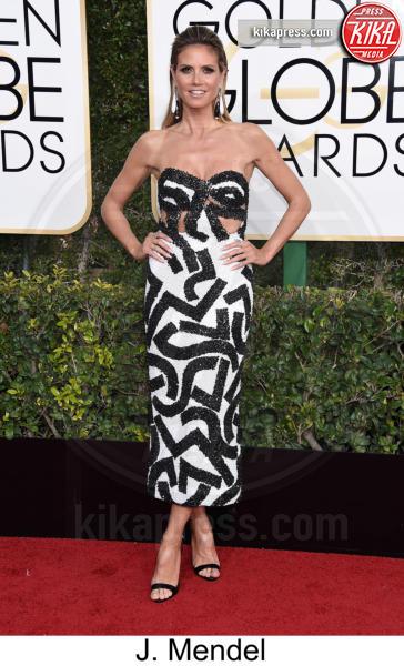 Heidi Klum - Beverly Hills - 08-01-2017 - Golden Globe 2017: tripudio di colori sul red carpet!