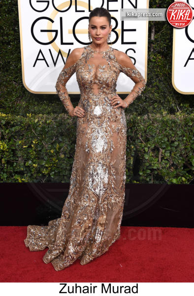 Sofia Vergara - Beverly Hills - 08-01-2017 - Golden Globe 2017: tripudio di colori sul red carpet!