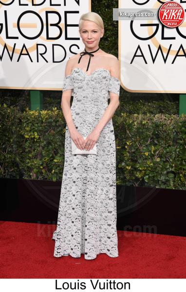 Michelle Williams - Beverly Hills - 08-01-2017 - Golden Globe 2017: tripudio di colori sul red carpet!