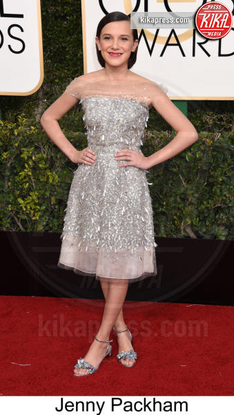 Millie Bobby Brown - Beverly Hills - 08-01-2017 - Golden Globe 2017: tripudio di colori sul red carpet!