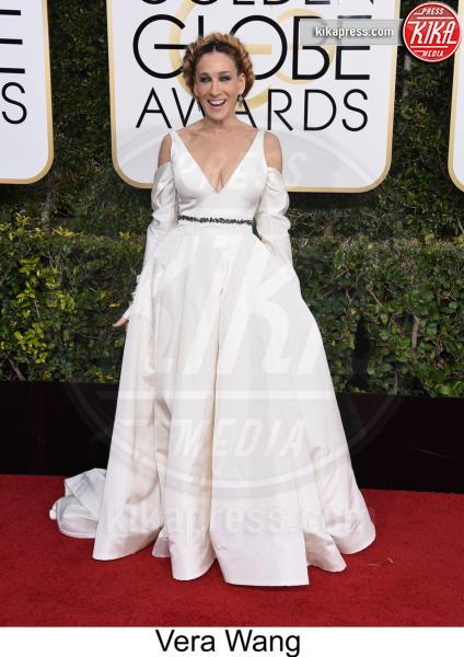 Sarah Jessica Parker - Beverly Hills - 08-01-2017 - Golden Globe 2017: tripudio di colori sul red carpet!