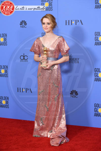 Claire Foy - Los Angeles - 08-01-2017 - Golden Globe: è il trionfo di La La Land e del black power