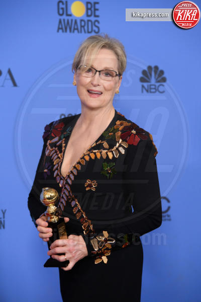 Meryl Streep - Los Angeles - 08-01-2017 - Golden Globe: è il trionfo di La La Land e del black power