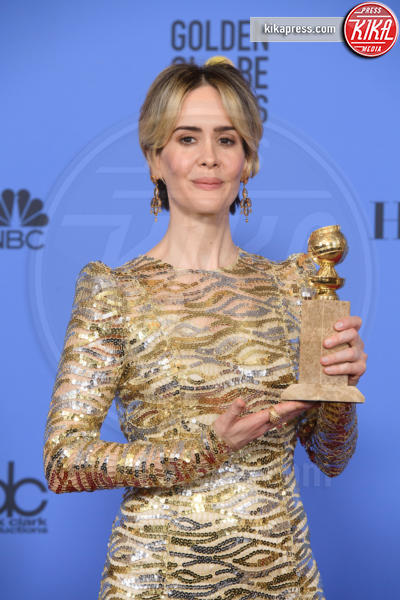 Sarah Paulson - Los Angeles - 08-01-2017 - Golden Globe: è il trionfo di La La Land e del black power