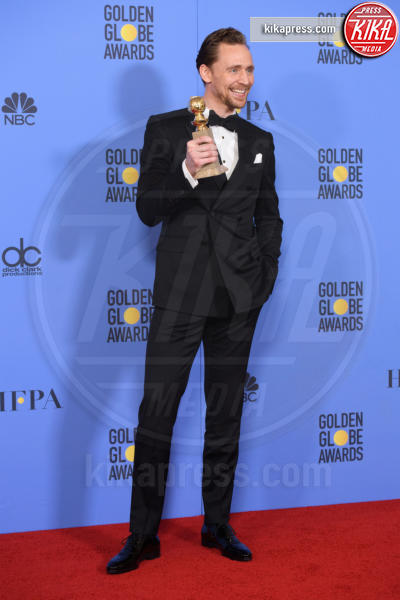 Tom Hiddleston - Los Angeles - 08-01-2017 - Golden Globe: è il trionfo di La La Land e del black power
