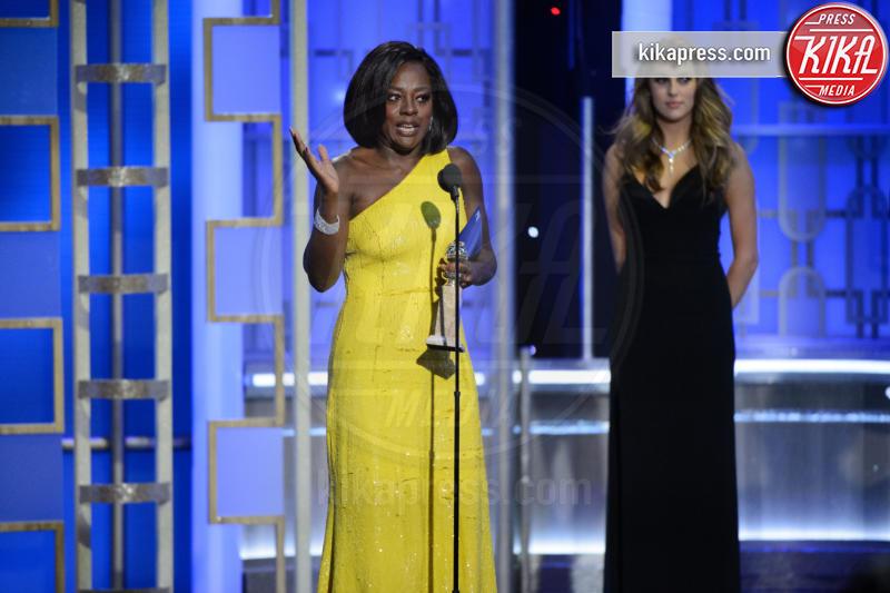 Viola Davis - Beverly Hills - 08-01-2017 - Golden Globe 2017: le immagini della cerimonia
