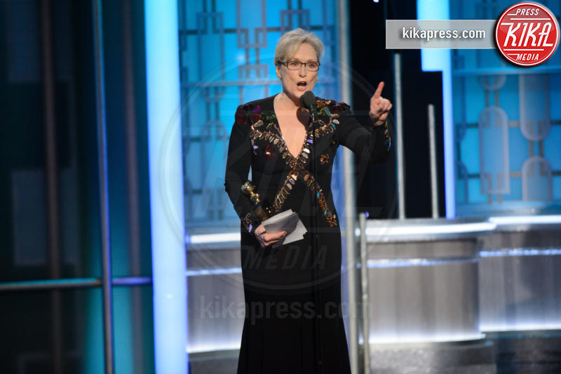 Meryl Streep - Beverly Hills - 08-01-2017 - Golden Globe 2017: le immagini della cerimonia