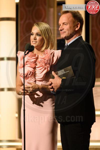 Carrie Underwood, Sting - Beverly Hills - 08-01-2017 - Golden Globe 2017: le immagini della cerimonia