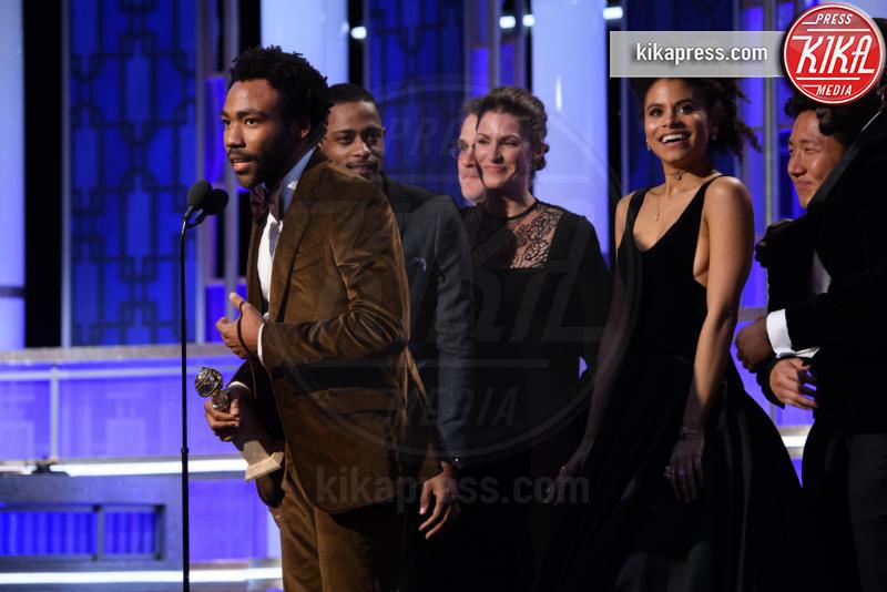 Donald Glover - Beverly Hills - 08-01-2017 - Golden Globe 2017: le immagini della cerimonia