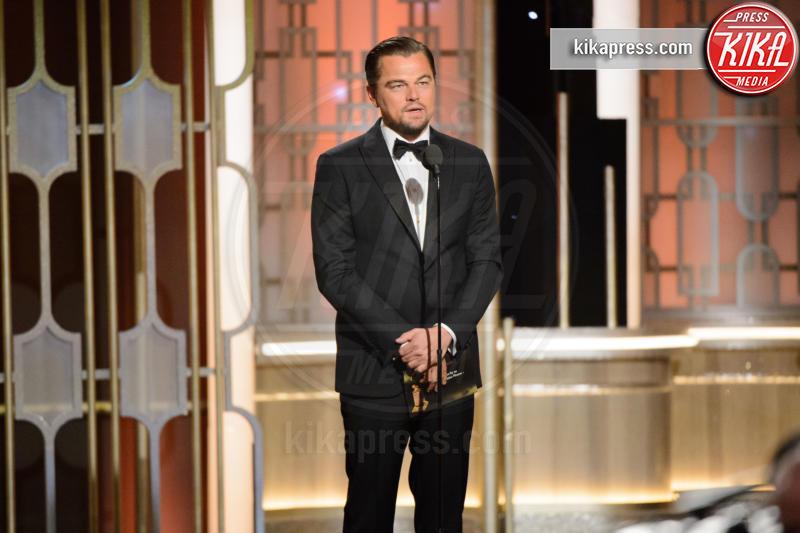 Leonardo DiCaprio - Beverly Hills - 08-01-2017 - Golden Globe 2017: le immagini della cerimonia