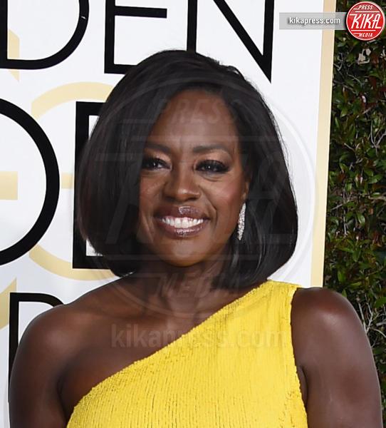 Viola Davis - Beverly Hills - 08-01-2017 - Golden Globe 2017, non solo abiti: ecco le acconciature!