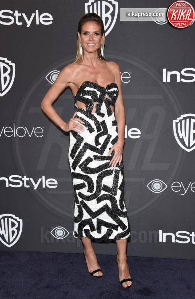 Heidi Klum - Beverly Hills - 08-01-2017 - Golden Globe 2017: lo spacco dispettoso di Emily Ratajkowsky