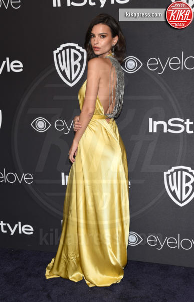 Emily Ratajkowski - Beverly Hills - 08-01-2017 - Golden Globe 2017: lo spacco dispettoso di Emily Ratajkowsky
