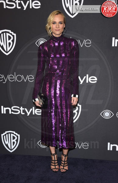 Diane Kruger - Beverly Hills - 08-01-2017 - Golden Globe 2017: lo spacco dispettoso di Emily Ratajkowsky