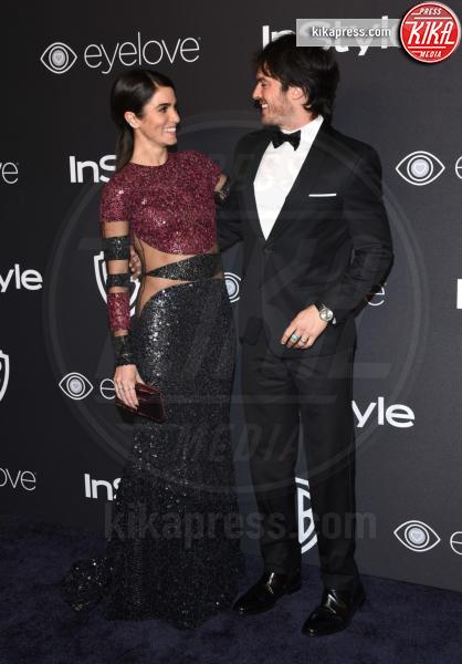 Ian Somerhalder, Nikki Reed - Beverly Hills - 08-01-2017 - Golden Globe 2017: lo spacco dispettoso di Emily Ratajkowsky